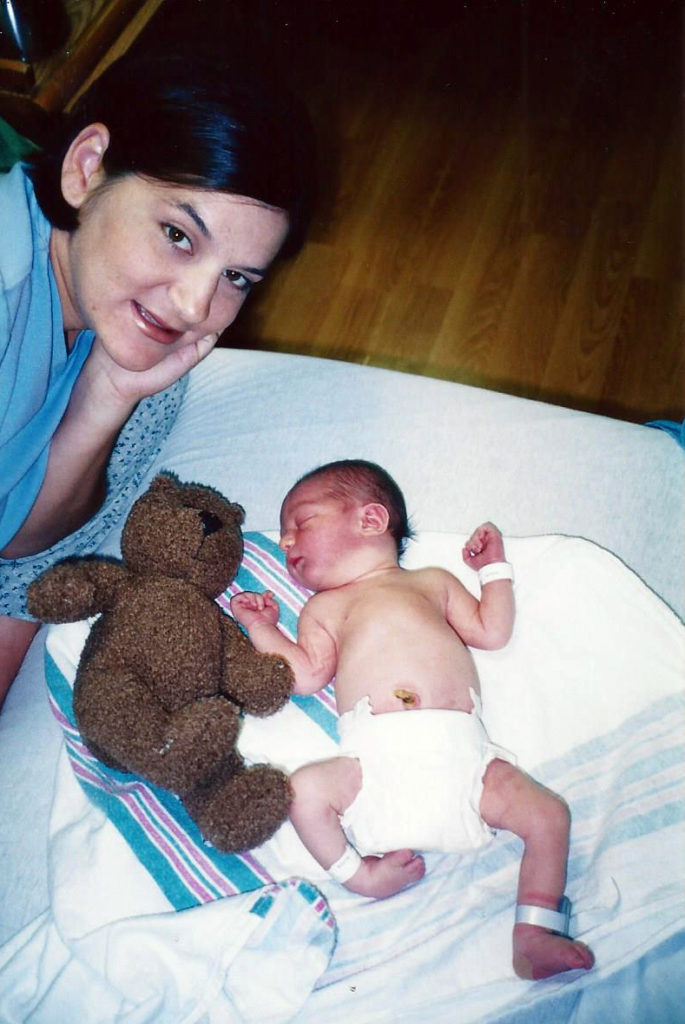 Kalvin newborn clubfoot