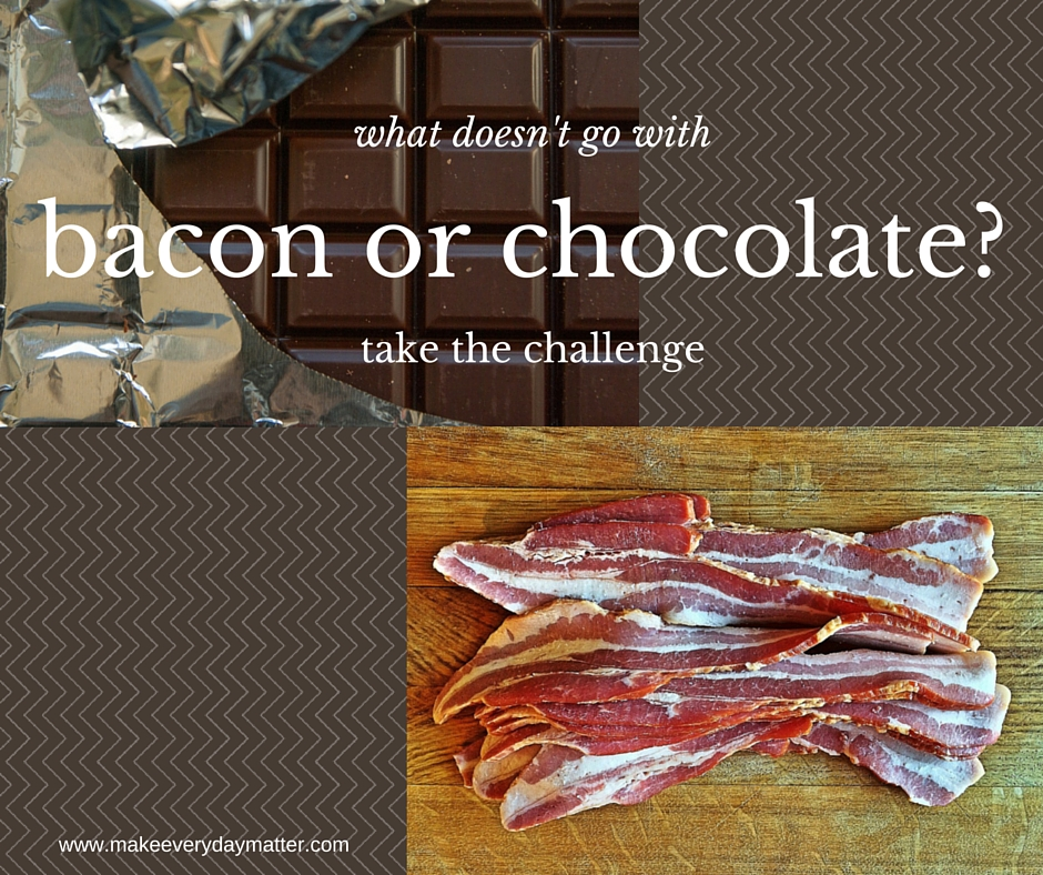 bacon chocolate challenge-facebook