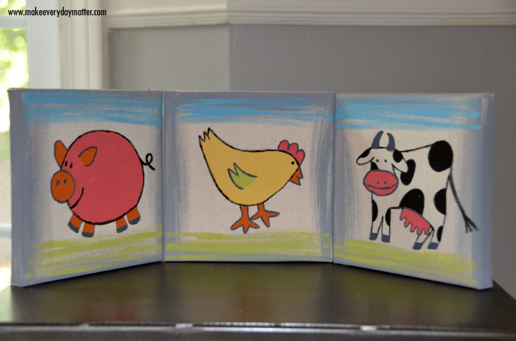 farm animals watermark