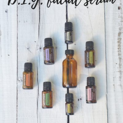 Acne, Gluten & D.I.Y. Facial Serum