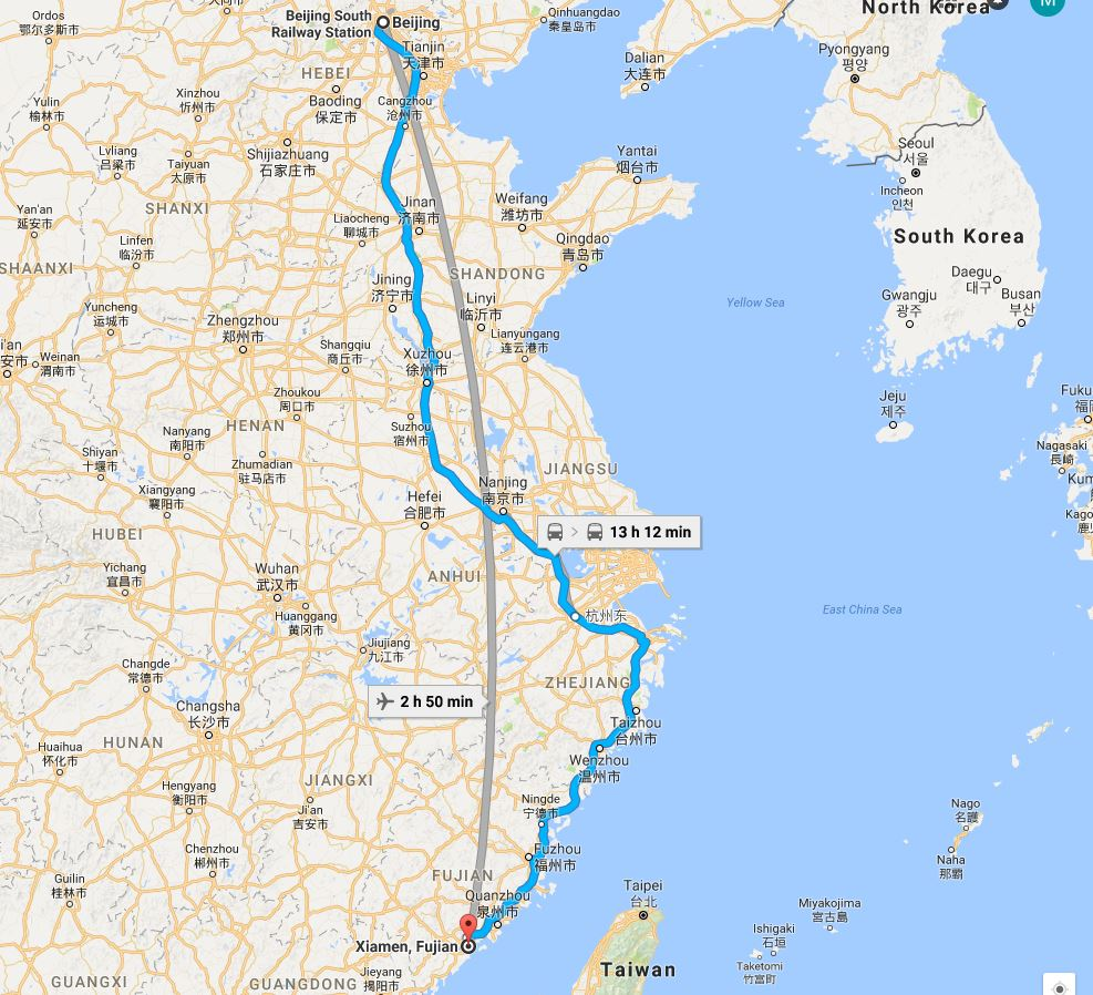 beijing-to-xiamen