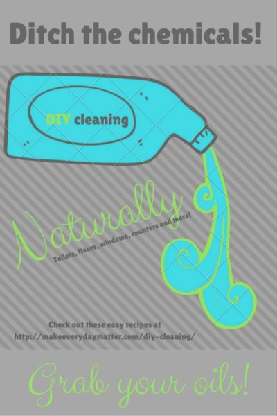 DIY Time: Get in the Cleaning Groove, Naturally!